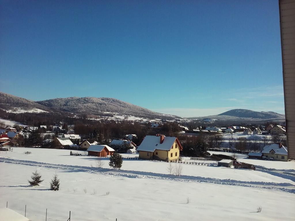 panorama zimą